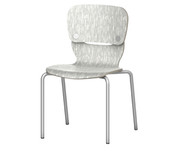 """Grand Rapids Chair 991 Felix 18"""" Laminate Smile Chair"""