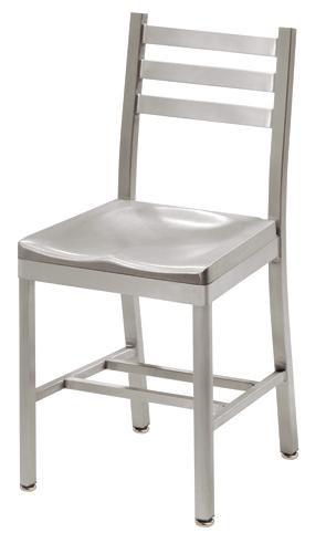 Grand Rapids Chair 750 Atlantis Aluminum Ladder Back Chair