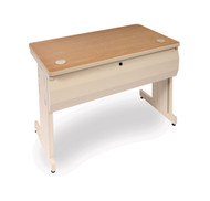 Marvel PTR7224L Pronto School Training Table with with Lockable Raceway 72x24