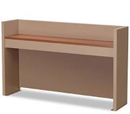 Norix Furniture TNT6042A 42 Inch Carrel with Steel Shelf