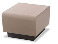 Norix Furniture HN830.HN850 Hondo Nuevo Bench with Molded Plinth Base