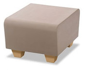 Norix Furniture HN830.HN860 Hondo Nuevo Bench with Molded Wood Grain Legs