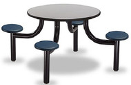 Norix Furniture MX42004PT Max Master 4 Seat Round Table