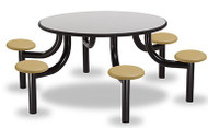 Norix Furniture MX5400-6PT Max Master 6 Seat Round Table