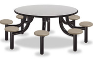 Norix Furniture MX6000-8PT Max Master 8 Seat Round Table