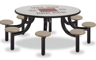 Norix Furniture MX6000-8GT Max Master 8 Seat Round Game Top Table