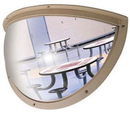 Norix Furniture HD36 Duravision 36x18 Half Dome Mirror