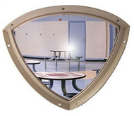 Norix Furniture QD18 Duravision 18x18 Quarter Dome Mirror