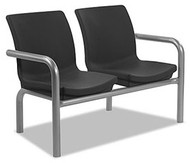 Norix Furniture C223-2 Two Gibraltar Beam Seating with Arms