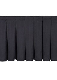 National Public Seating SB16 Box Pleat Skirting 15 Inch Height