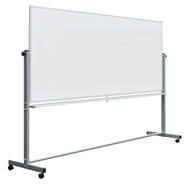 Luxor MB9640WW  Mobile Reversible Whiteboard 96 x 40