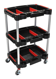Luxor MC-3 Mechanics Mechanics Three Shelf Cart