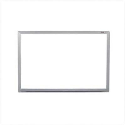 Marsh Industries PR406-1460-6100 Pro Rite Magnetic Wall Mounted Whiteboard 4x6 Feet with Aluminum Trim