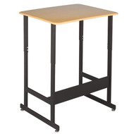 Capitol Seating 490 Standup Sitdown Student Desk