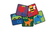 Carpets for Kids 6726 Premium Collection Sequential Seating Literacy Squares Kit of 26