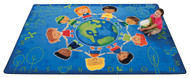 4417 Premium Collection Give the Planet a Hug Rug 8 x 12