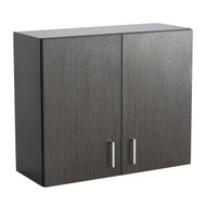 Safco 1700AN Hospitality Wall Cabinet Asian Night  & Black
