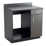 Safco 1705AN Hospitality Appliance Base Cabinet Asian Night
