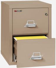 FireKing 2-1825-C 25 2 Drawer Letter File