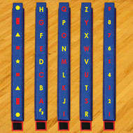 Everlast Climbing WK.BB.FullSet WeeKidz Full Set of 5 Balance Beams