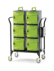 Copernicus FTT632 Tech Tub2 Cart with 6 Premium Tech Tubs Holds Up To 32 Devices