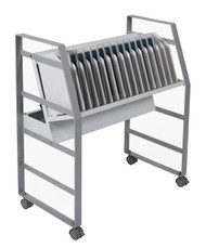 Luxor LOTM16 Chromebook Open Charging Cart 16 Slot