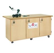 Diversified VXR-7228M Maple Veneeer Plywood Constructed Robotic Workbench