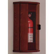 Wooden Mallet FEC11 Fire Extinguisher Cabinet With Acrylic Front Panel