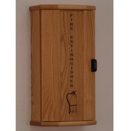 Wooden Mallet FEC20 Fire Extinguisher Cabinet With Engraved Front Panel
