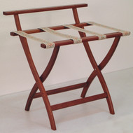 Wooden Mallet LR4 Deluxe Oak Luggage Rack