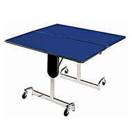 Mitchell Furniture Systems FR-484-700 Fold N Roll 48 Inch Square Table Adjustable Height