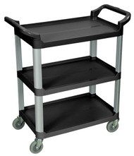 Luxor SC12 Three Shelf Serving Cart