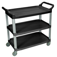 Luxor SC13 Large Three Shelf Serving Cart
