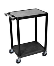 Luxor STC22 Utility Cart with Two Shelves