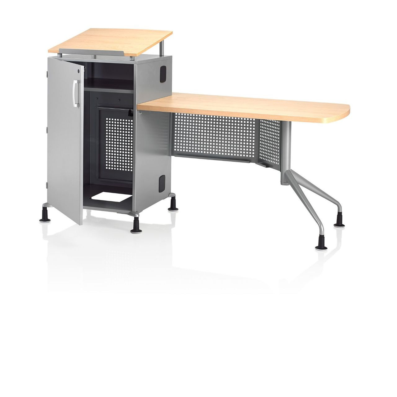 Ki all terrain atmtd2454 74p wsr mobile instructor 39 s desk for Furniture 63366