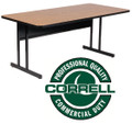Correll CS2460 High Pressure Top Computer Table 24 inch by 60 inch