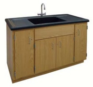 Hann BC-152S-PO Clean Up Sink With Molded Polyolefin Top