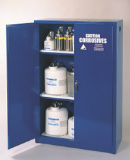 Hann SAF-CRA-4510 Corrosive Acid Storage Cabinet With Self Closing Doors 18 x 43