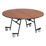 AmTab MRD48 Mobile Cafeteria Table Round 48 Diameter