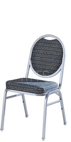 MTS Seating 535 Omega II Banquet Stacking Chair Round Back 18 Inch Seat Height