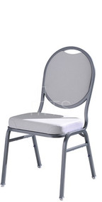 MTS Seating 590 Omega II Banquet Stacking Chair Round Back 18 Inch Seat Height