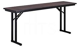 MTS Seating 415-1896-ML Continuity Meeting Room Leg Folding Table 18 x 96