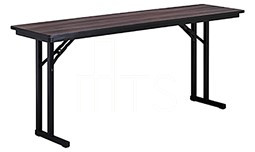 MTS Seating 415-2496-ML Continuity Meeting Room Leg Folding Table 24 x 96