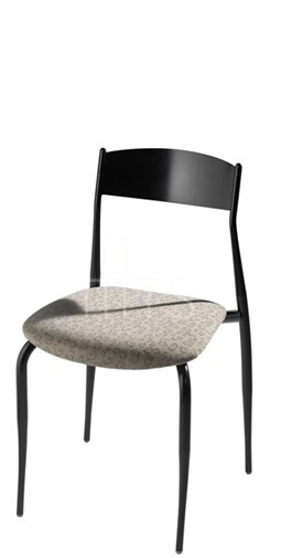 MTS Seating 187 Toledo Nesting Dining Chair With Upholstered Seat 18 Inch Seat Height
