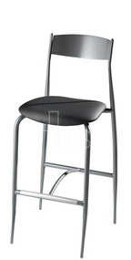 MTS Seating 187-30 Toledo Dining Bar Stool With Upholstered Seat 30 Inch Seat Height