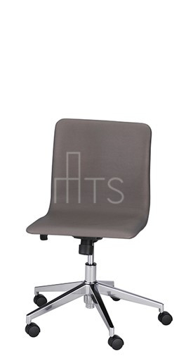 MTS Seating 8650-C-E Lehto Swivel and Tilt Caster Guest Chair Adjustable Height 18 Inch Seat Height