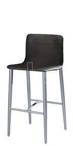 MTS Seating 8612-30-EM Lehto Mid Back Tapered Leg Bar Stool 30 Inch Seat Height