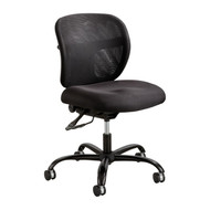 Safco 3397 Vue Intensive Use Armless Mesh Task Chair With Adjustable Height