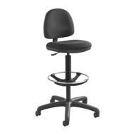 Safco 3401 Precision Chair With Casters and Footring Adjustable Height