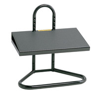 Safco 5124 Task Master Black Steel Adjustable Footrest For Standing Desks